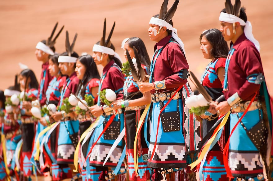 Navajo Indian Gourd Dance, Gallup Inter-Tribal Indian Ceremonial, Gallup, New Mexico